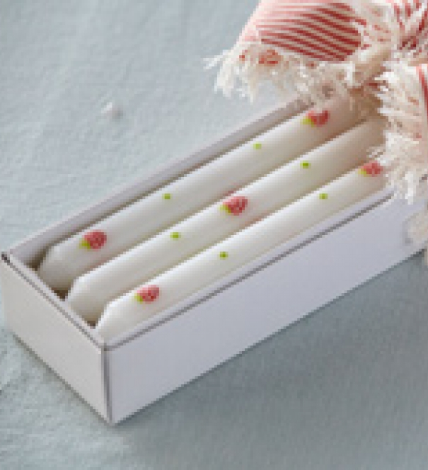 Candles - Strawberry - Box of 6
