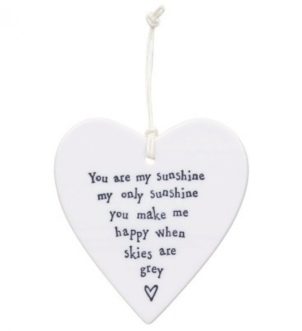Porcelain Heart, You are my sunshine