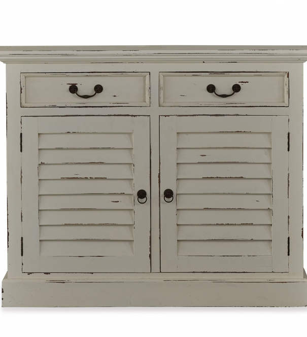 Shutter Narrow Sideboard - Cream
