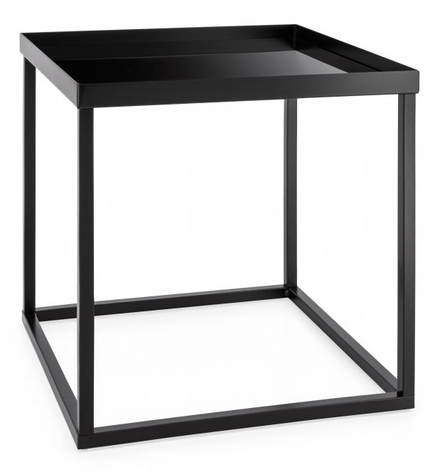 Cube Stacking Table - Black