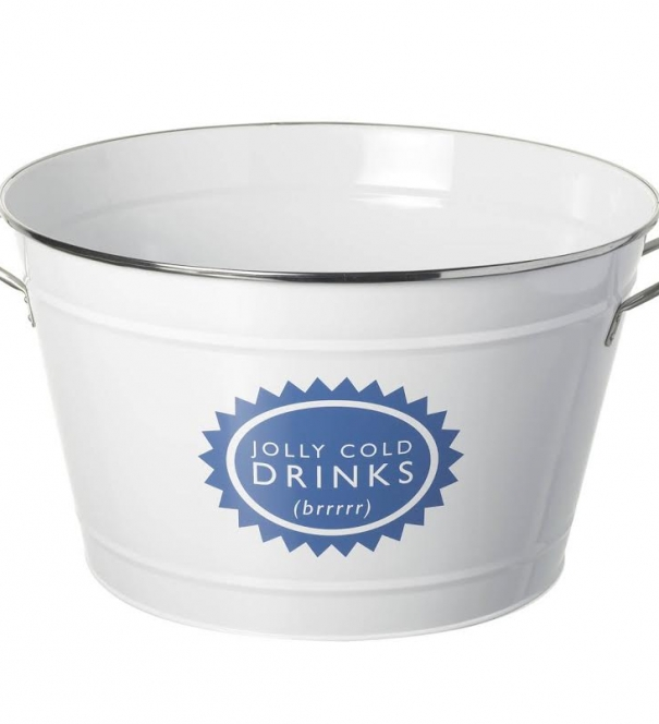 Jolly Cold Drinks Bucket, Round