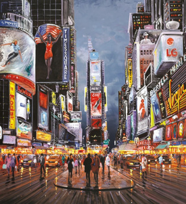 After Dark, Times Square - SOLD
