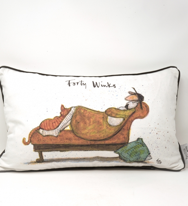 Sam Toft Cushion - Forty Winks