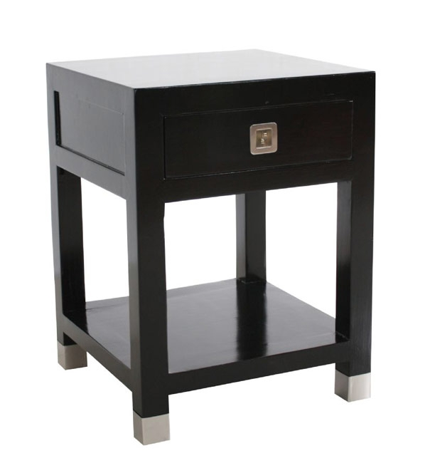 Ebony Side Table